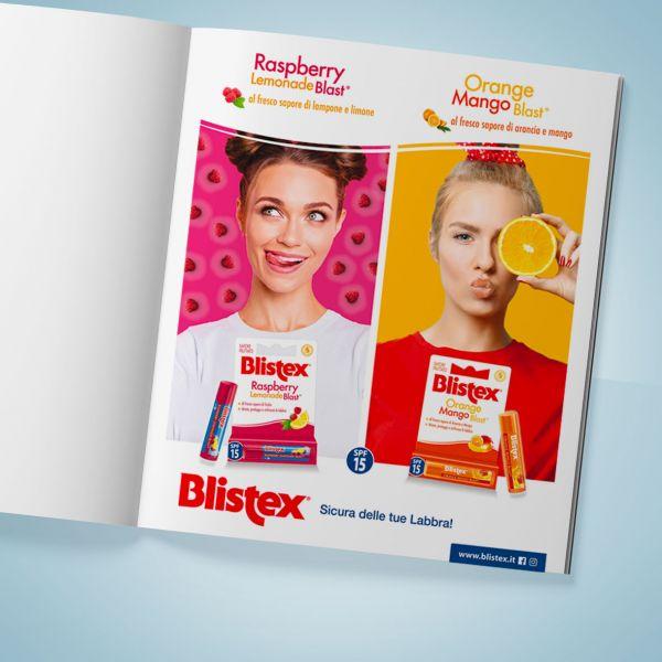 Campagna stampa Blistex