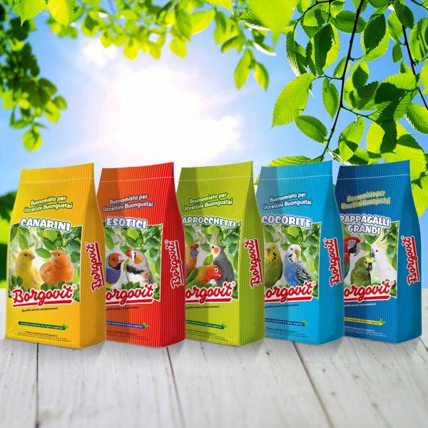 Packaging sacchi mangime animali Borgovit