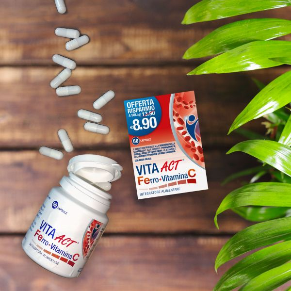 Packaging Vita Act Ferro   Vitamina C